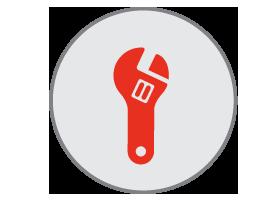 drain repair icon