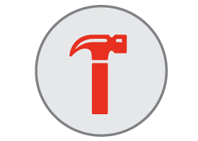 shower installation icon