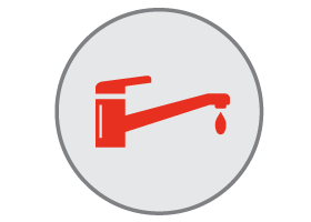sink and faucet repairs icon