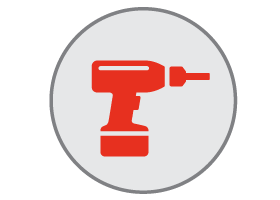 drain installation icon