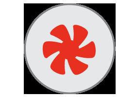 garbage disposal repair icon