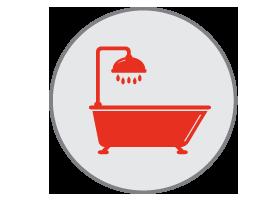 bathroom remodeling icon