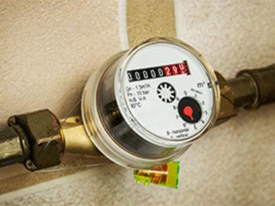 water-meter-seen-on-pipe